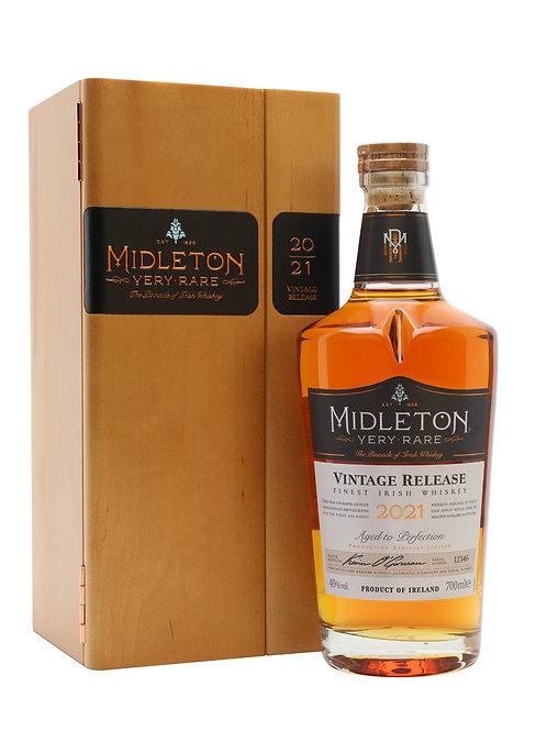 Midleton Very Rare Vintage Release 2021