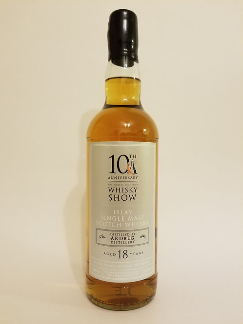Ardbeg 18 Years Old for Whisky Show 10th Anniversary