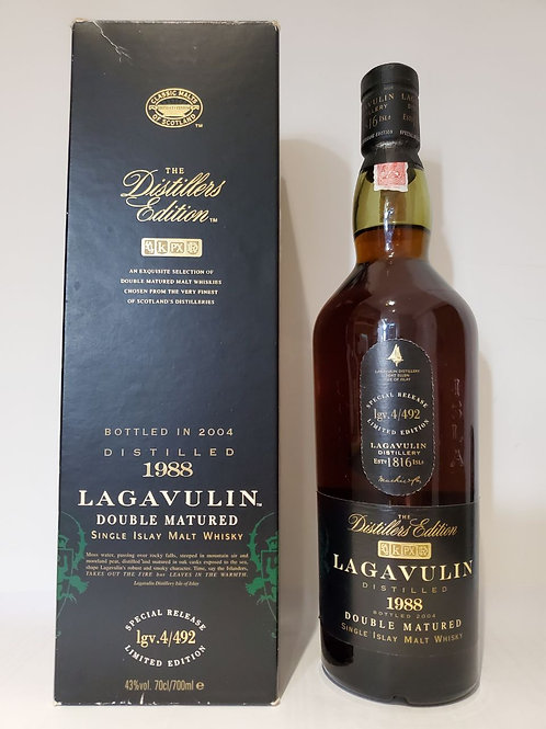 Lagavulin 1988 Distillers Edition - Bottled 2004