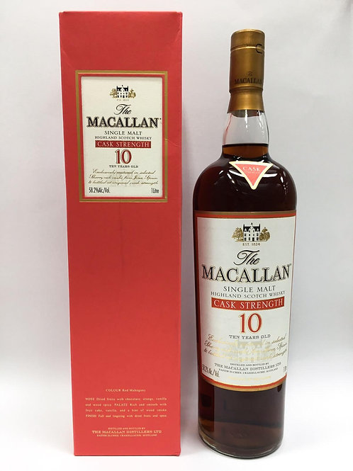 Macallan 10 Years Old Cask Strength 1L 58.2%