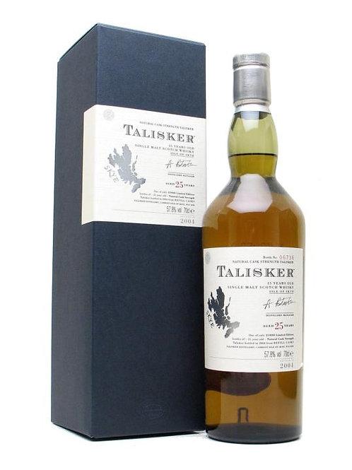 Talisker 25yo OB bottled 2004
