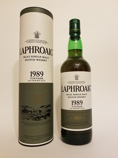 Laphroaig 1989 23 Years Old