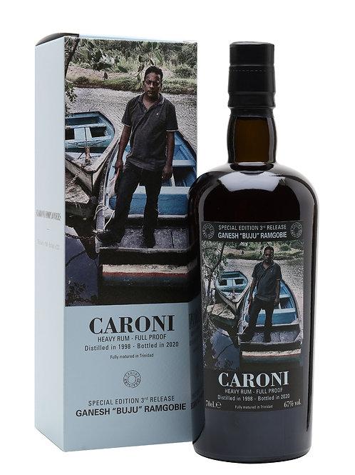 Caroni 1998 22yo Employees 3rd Release - Ganesh Ramgobie