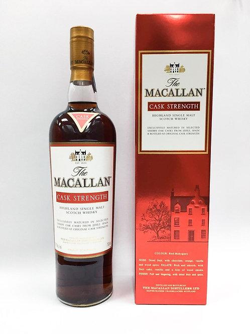Macallan Cask Strength 59%