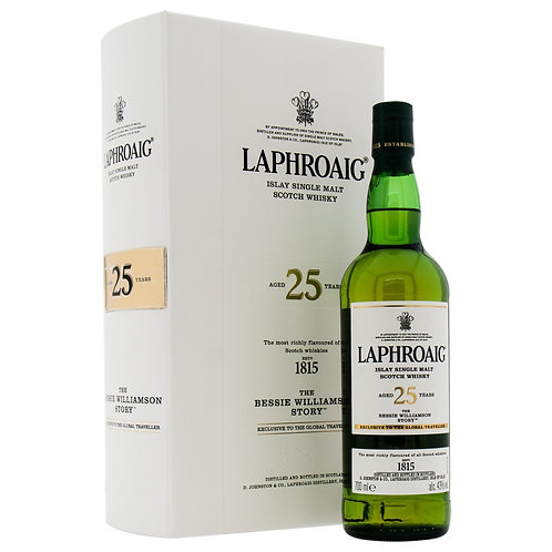 Laphroaig 25 Years Old The Bessie Williamson Story