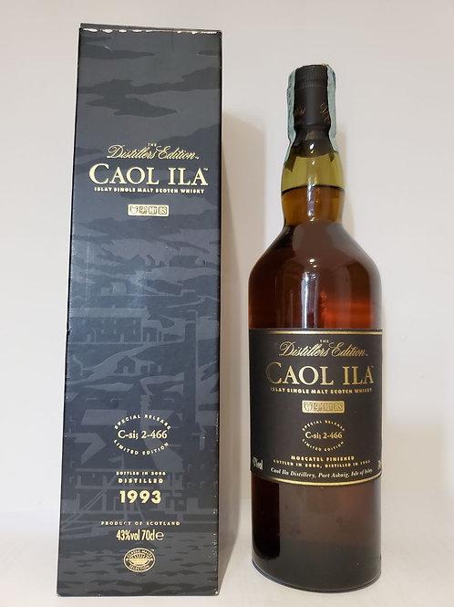 Caol Ila 1993 Distillers Edition - Bottled 2006