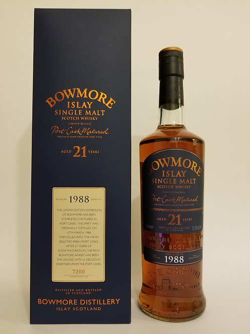 Bowmore 1988 21 Years Old