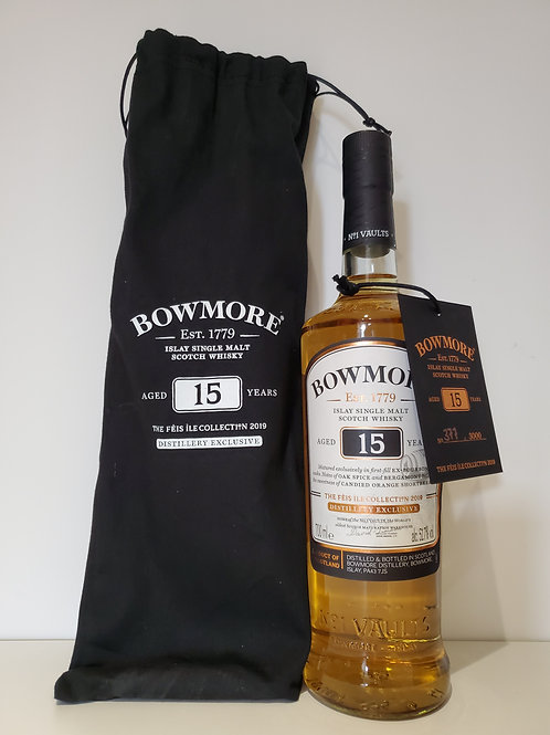 Bowmore 15 YO Feis Ile 2019