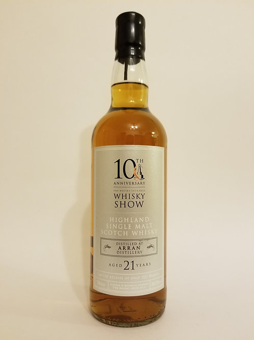 Arran 21 Years Old for Whisky Show 10th Anniversary