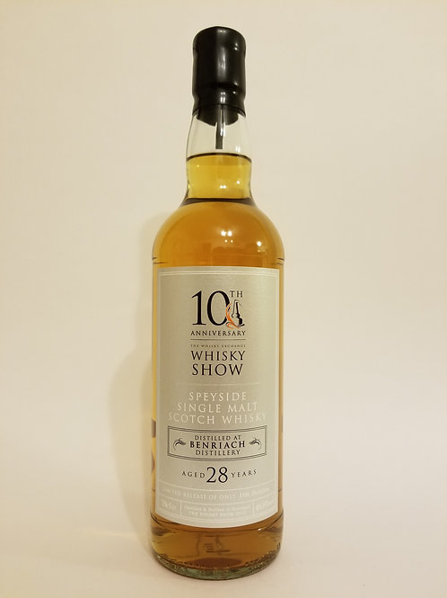 BenRiach 28 Years Old for Whisky Show 10th Anniversary