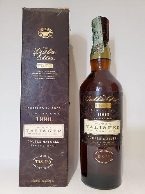 Talisker 1990 Distillers Edition - Bottled 2003