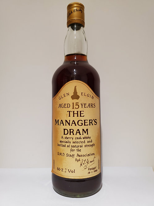 Glen Elgin 15 Years Old The Manager's Dram