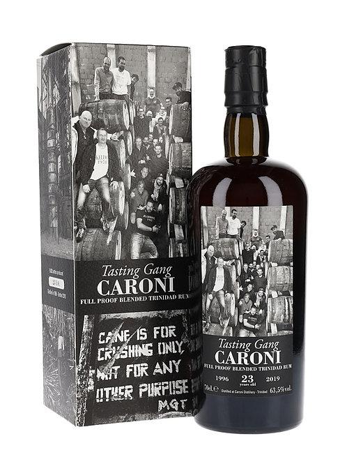 Caroni 1996 23yo Tasting Gang
