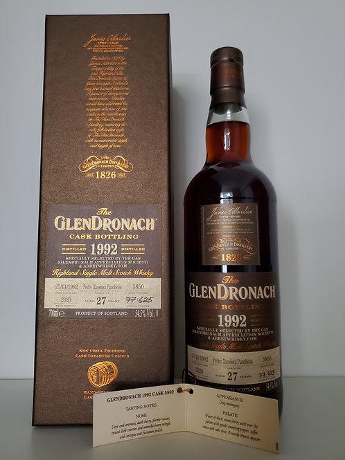 Glendronach 1992 27YO Cask #5850 for GAS x Abbeywhisky