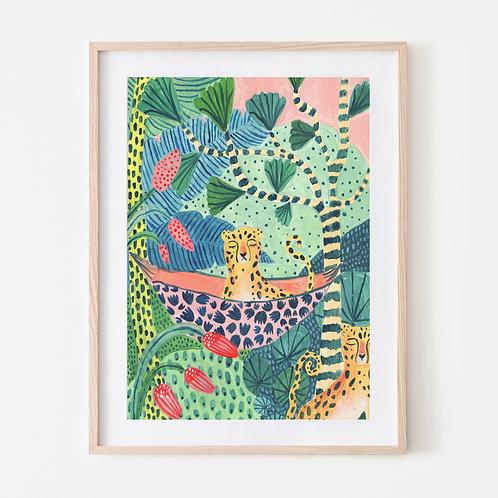 Jungle Leopard Pair