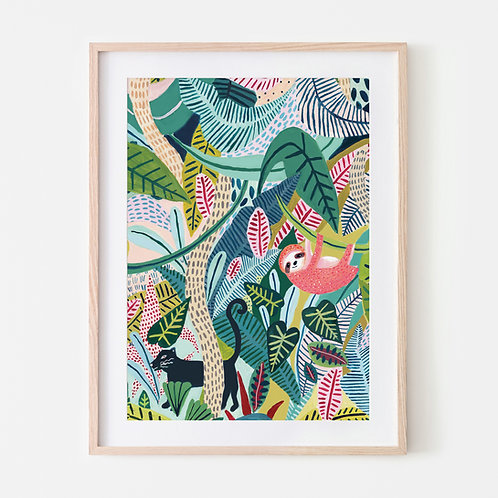 Jungle Sloth & Panther Pals