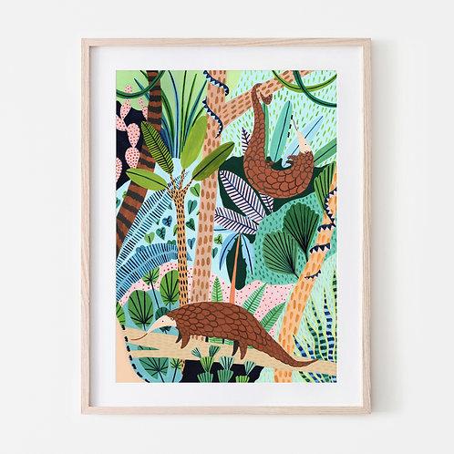 Jungle Pangolins