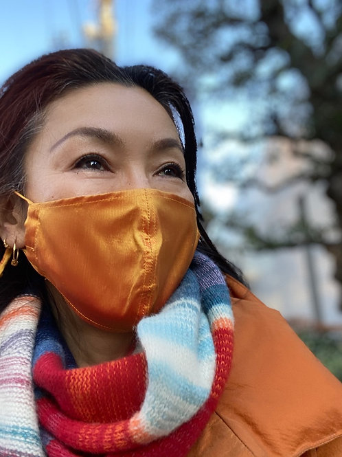 マスク【タイシルク100% 】チャクラカラー