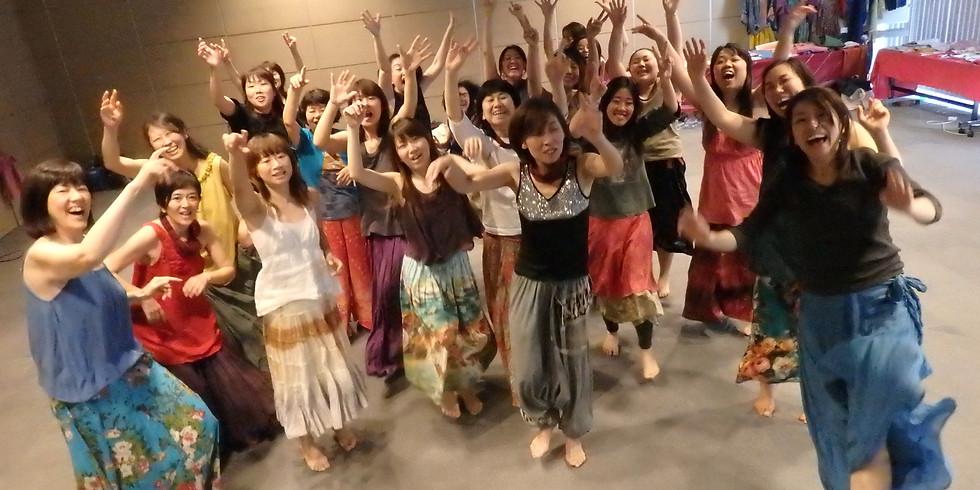 10/17(日)ダンス&メディテーション  ミュージックライブ