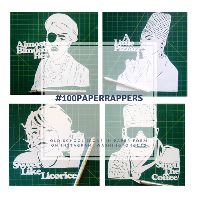 #100PaperRappers