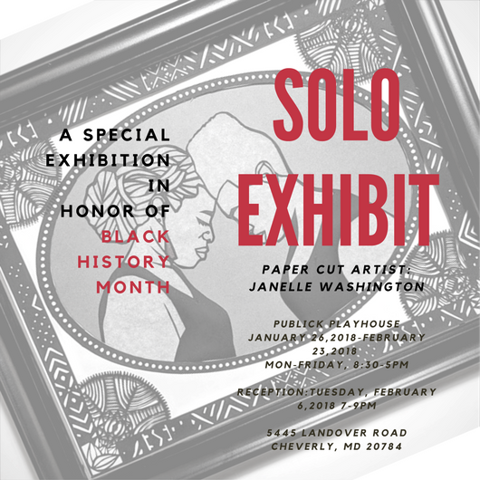 First Solo Exhibit