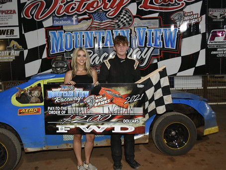 REGULAR WEEKLY POINTS AND KIDS' RACES AT MOUNTAIN VIEW RACEWAY