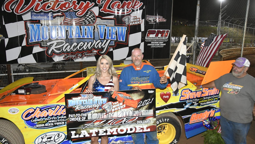 REGULAR WEEKLY POINTS NIGHT THIS SATURDAY AT MOUNTAIN VIEW RACEWAY