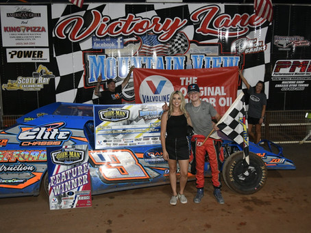 YOUTH IS SERVED WITH MEFFORD OWM WIN AT MOUNTAIN VIEW RACEWAY