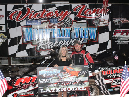 SMITH SAILS TO MOUNTAIN VIEW RACEWAY LATE MODEL WIN