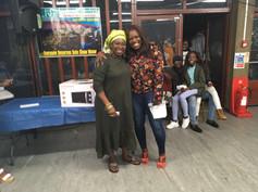 2nd prize winner - Mrs Esther Kamara