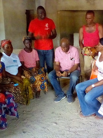 Mr Lightfoot Taylor engages with Keeping Hope Alive's Women Leaders
