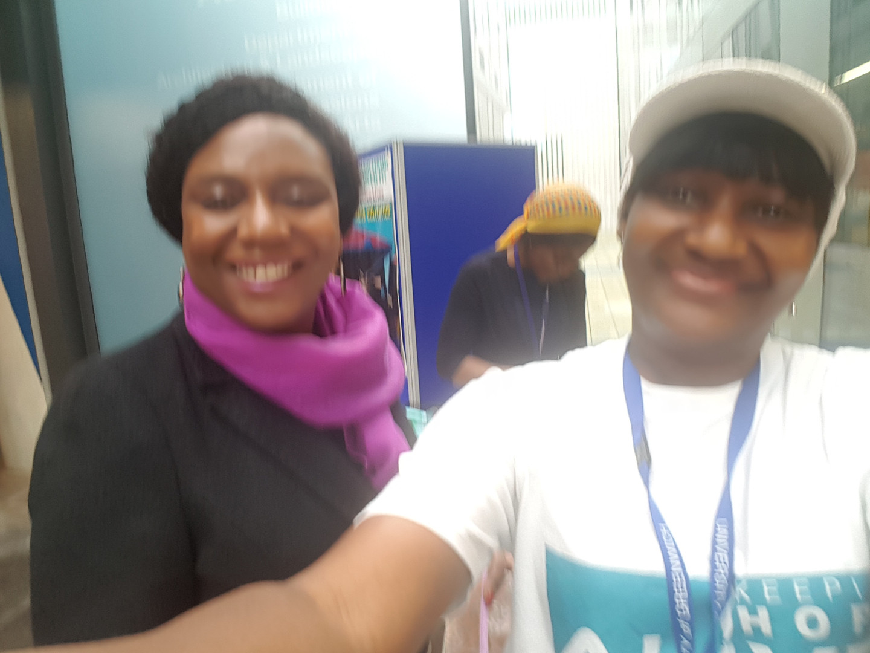 With Dr Emmanuel