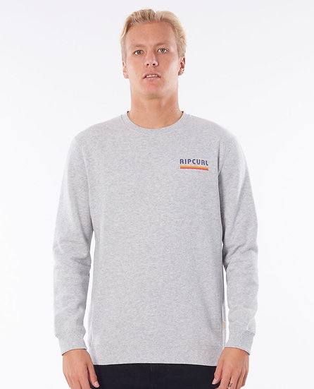 RIP CURL  MEN'S  SURF REVIVAL CREW FLEECE