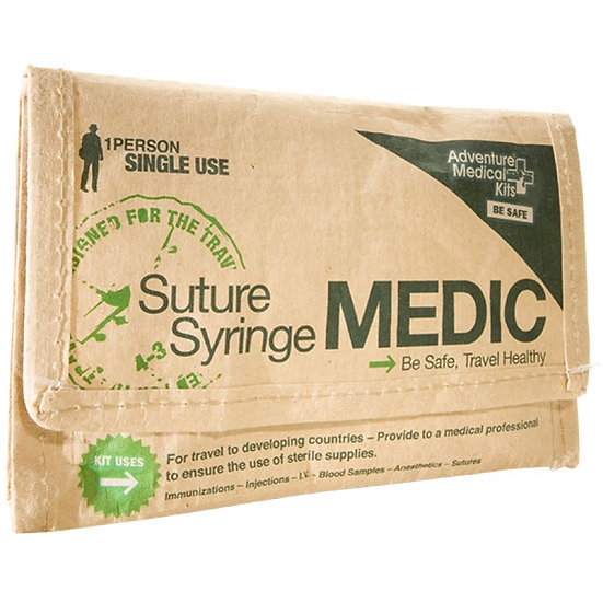 ADVENTURE MEDICAL KITS: SUTURE SYRINGE MEDIC KIT