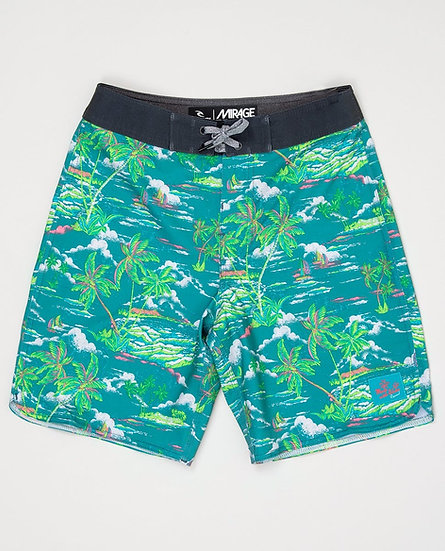 RIP CURL JUNIOR MIRAGE TROPICAL BREEZE BOARDSHORTS