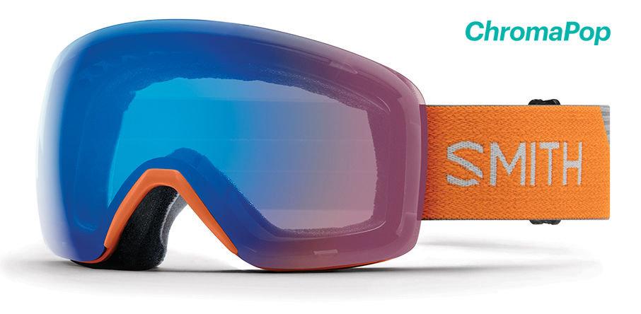 SMITH OPTICS SKYLINE SKI AND SNOWBOARD GOGGLES
