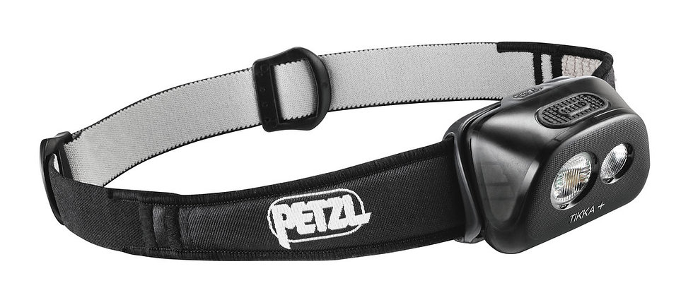 PETZL TIKKA + ACTIVE SERIES 160 LUMUNS HEADLAMP