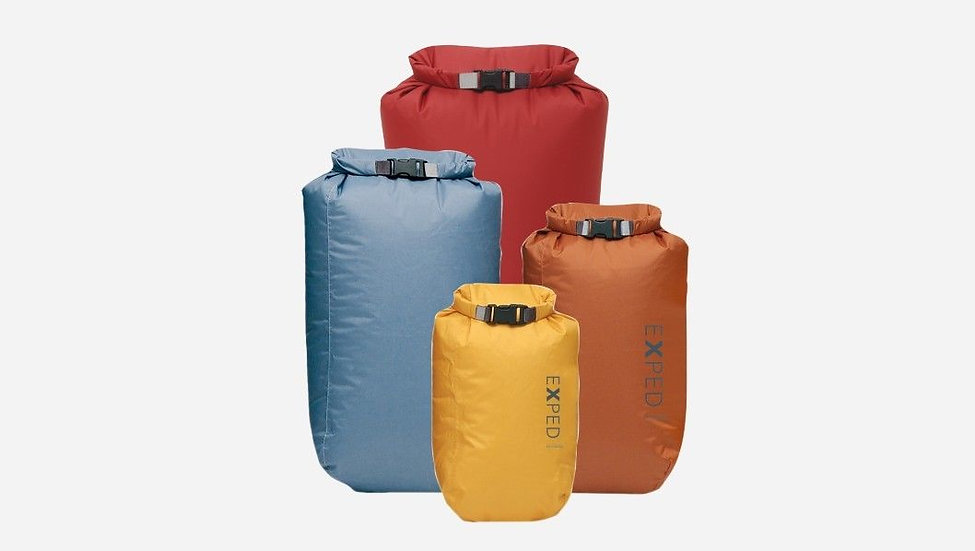 DISCOUNT NEW EXPED Fold Drybag Set of 4