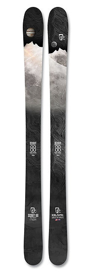 2021 ICELANTIC SCOUT 88 KIDS ALL MOUNTAIN SKIS