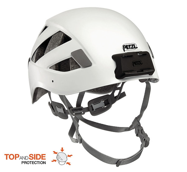PETZL BOREO CAVING HELMET WITH DUO MOUNTING PLATE