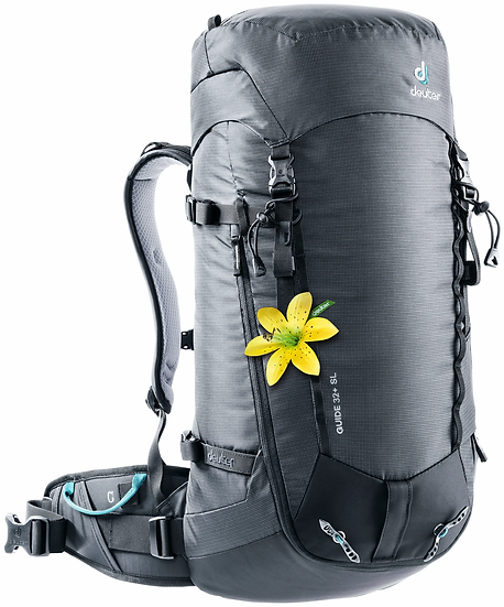 DEUTER GUIDE 32 + SL  WOMEN'S CLIMBING, SKI TOURING AND MOUNTAINEERING BACKPACK