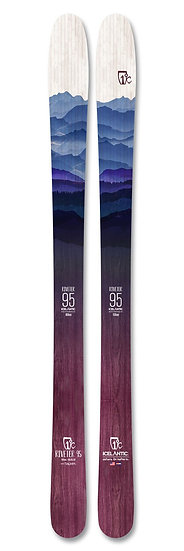 2021 ICELANTIC RIVETER 95 BACKCOUNTRY TOUR SKI