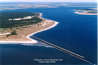 Gofundme campaign to rebuild Fishing Pier at Fort Clinch State Park FL Florida