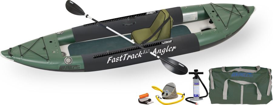SEA EAGLE 385FTA ANGLER SERIES INFLATABLE FISHING KAYAK