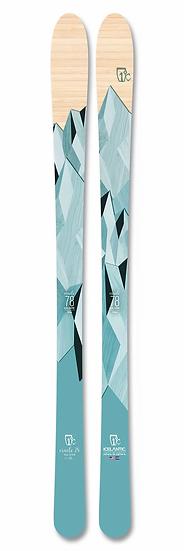 2021 ICELANTIC ORACLE 78 WOMEN ALL MOUNTAIN SKIS