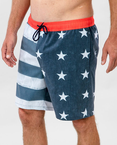 "RIP CURL MEN'S LIBERTY VOLLEY 18"" SURF BOARDSHORTS"