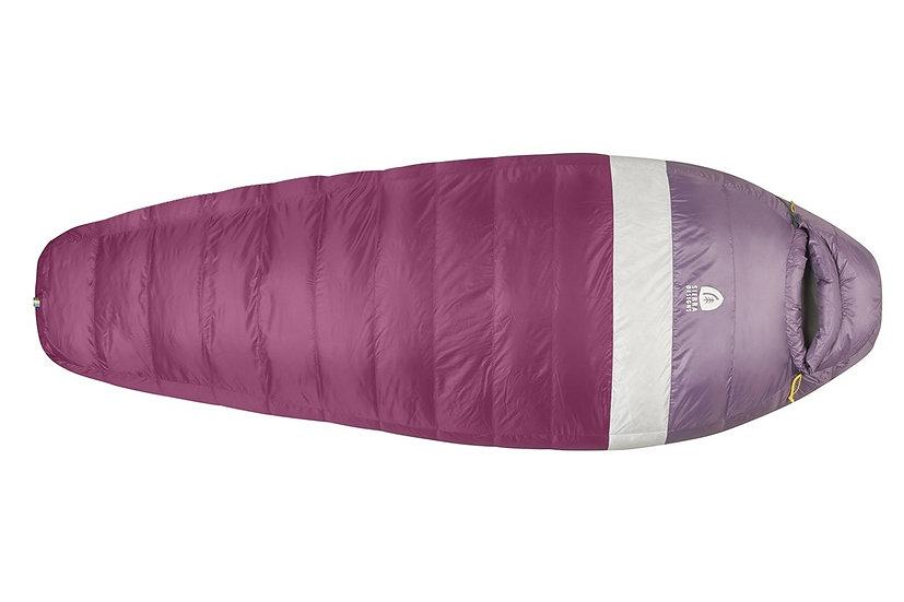 SIERRA DESIGN WOMEN'S TAQUITO 20 DEGREE DRIDOWN SLEEPING BAG