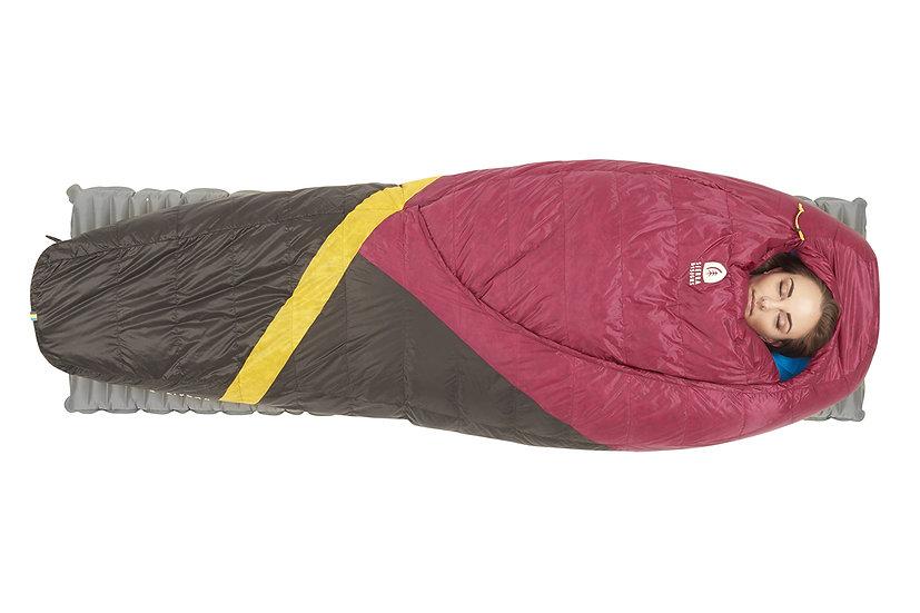 SIERRA DESIGNS WOMEN'S CLOUD 800/20 SLEEPING BAG