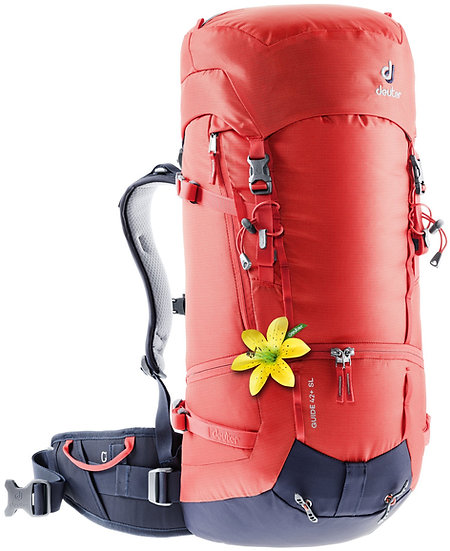 DEUTER GUIDE 42 + 8  SL  WOMEN CLIMBING, SKI TOURING AND MOUNTAINEERING BACKPACK
