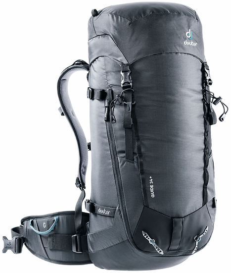 DEUTER GUIDE 34 + CLIMBING AND MOUNTAINEERING BACKPACK